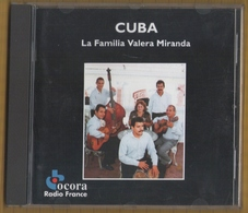 CD 14 TITRES CUBA LA FAMILIA VALERA MIRANDA  BON ETAT & RARE - World Music
