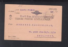 KuK Feldpost 1915 Detachierter Mörserzug - Briefe U. Dokumente