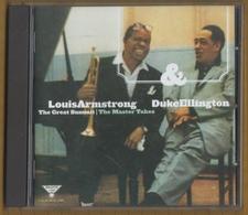 CD 17 TITRES LOUIS ARMSTRONG & DUKE ELLINGTON THE GREAT SUMMIT THE MASTER TAKES  BON ETAT & RARE - Jazz