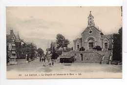 - CPA LA BAULE (44) - La Chapelle Et L'Avenue De La Gare - Editions Lévy N° 81 - - La Baule-Escoublac