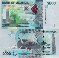 NEW DATE!!! Uganda 2019 - 2000 Shillings - Pick 50 UNC - Uganda