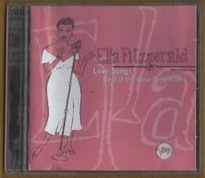 CD 16 TITRES ELLA FITZGERALD LOVE SONGS BEST OF THE VERVE SONG BOOKS  BON ETAT & RARE - Jazz