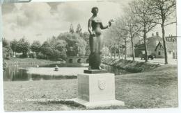 Goes 1960; Stenenbrug Met Ceresbeeld - Gelopen. (van Leer) - Goes