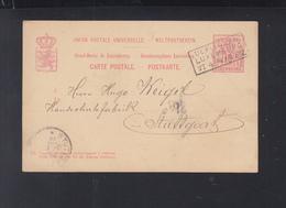 Luxemburg GSK 1894 Lacrochette Ulflingen Luxemburg - Interi Postali