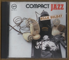 CD 13 TITRES BILLIE HOLIDAY COMPILATION COMPACT JAZZ  BON ETAT & RARE - Jazz