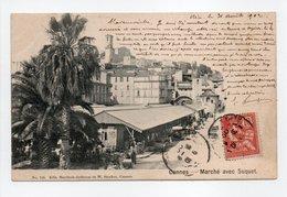 - CPA CANNES (06) - Marché Avec Suquet 1902 - Editions Haertsch-Ardisson Et Stocker 154 - - Cannes