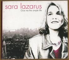 CD 12 TITRES SARA LAZARUS GIVE ME THE SIMPLE LIFE  BON ETAT & RARE - Jazz