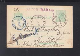 Romania Stationery 1903 Galati Bursa - 1881-1918: Carol I.
