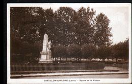 45, Chatillon Sur Loire, Square De La Victoire - Chatillon Sur Loire