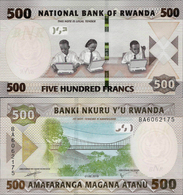 NEW!!! Rwanda 2019 - 500 Francs - Pick NEW UNC - Rwanda