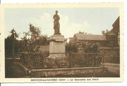02 - BERGUES SUR SAMBRE / LE MONUMENT AUX MORTS - Other Municipalities