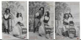 Genre Bergeret AMOURS NAPOLITAINES (5 Cartes) (2 Scans) (éd. Cccc) - Koppels
