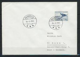 Grönland, Stempel-Ersttag Marmorilik Auf Brief Nach Deutschland;  B-1274 - Postmarks