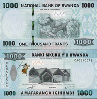 NEW!!! Rwanda 2019 - 1000 Francs - Pick NEW UNC - Rwanda