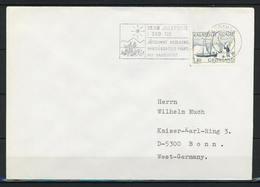 Grönland, Stempel GODTHÅB Auf Brief Nach Deutschland; Motiv: Weihnachten;  B-402 - Postmarks