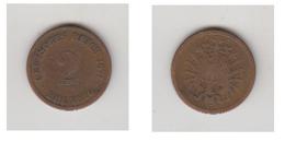 2 PFENNIG 1874 A - [ 2] 1871-1918 : German Empire
