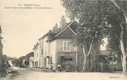 POLIGNY -  Carrefour Des Routes De Miéry Et De Lons Le Saunier. - Poligny