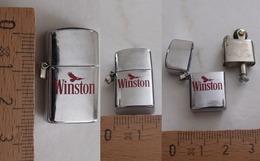 Mini ZIPPO Publicitaire WINSTON - Briquets