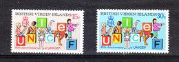 Isole  Vergini  Virgin Islands  -  1971.  Unesco. Ginnastica Giovanile. Youth Gymnastics Over Unesco Letters. MNH - Vacanze & Turismo