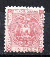 Sello Nº 7 Ecuador - Ecuador