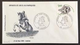 D415 Sports Et Jeux Olympiques Amiens 17/5/1980 2074 Championnat Du Monde De Judo Sports Et Jeux Olympiques - Postmark Collection (Covers)