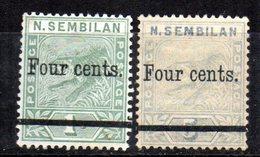 Serie Nº 18/19 Negri Sembilan - Raubkatzen