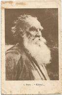 W2871 Jan Styra - Lev Tolstoj - Dipinto Paint Peinture / Viaggiata 1917 - Pittura & Quadri