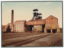 54) PIENNES : Grande Photographie Couleur De La Mine- (23 X 17 Cm) - France