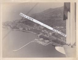 AVIATION  AJACCIO Années 1930 - Photo Originale De La Base Des Hydravions Prise Du Ciel ( Corse ) - Lieux