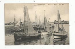 Cp , Bateaux De Pêche ,  50 ,  CHERBOURG ,  Vierge - Pêche