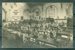 MILITARIA - GUERRE 1914.1918. DIJON SALLE DE REPOS POILUS-PALACE CANTINE CONSIGNE LAVABOS GRATUIT ANIMATION - Personnages