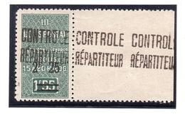 ALGÉRIE COLIS POSTAUX Bord De Feuille Géant ( Yv. 37 ) My. 46 - Colis Postaux
