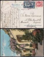 Cuba 1922 - CP De Camaguey Vers Belgique (DD)DC3071 - Covers & Documents