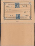 Cuba 1880 - EP 25c Bleu - Double Impression  (DD)DC3072 - Cuba