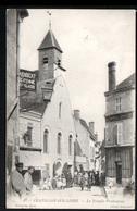 45, Chatillon Sur Loire, Le Temple Protestant ( Avec Animation ) - Chatillon Sur Loire