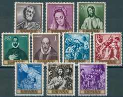España 1961. Edifil 1330/39** - Domenico Theotocopoulos El Greco - 1931-Tegenwoordig: 2de Rep. - ...Juan Carlos I