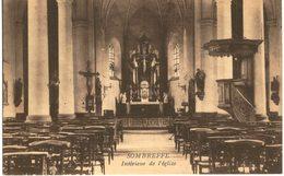 SOMBREFFE  Intérieur De L' église - Sombreffe