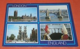 GB UK Used --- London --- Mehrbildkarte - Tower Bridge - Garde  U.a. (2 Foto)(7069AK) - Autres