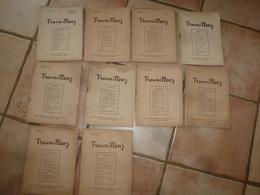 1948-1949 : Lot De 10 Revues TRAVAILLONS (Revue Des Cadre De La L.F.A.C.F )  LIGUE FÉMININE  ACTION CATHOLIQUE FRANÇAISE - Livres, BD, Revues