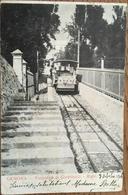 CPA, Genova, Funicolare Al Castellaccio- Righi (écrite En 1906, Timbre - Genova (Genoa)