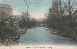 Namur Le Hoyoux A Heuvy Carte Colorisée Circulé En 1908 - Namur