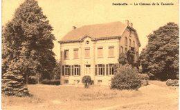 SOMBREFFE Le Château De La Tannerie...coin Droit Lég Plié. - Sombreffe