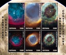 Guyana 2018  Space  Planetary Nebulae  I201901 - Guyana (1966-...)