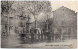 26 TULETTE - La Fontaine - Autres Communes