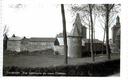 SOMBREFFE Vue Extérieure Du Vieux Château  Carte  Photo. - Sombreffe