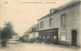 LA CHAPELLE SAINT URSIN - La Place, Côté Nord. - France