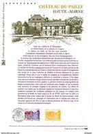 """"""" LE CHATEAU DE PAILLY """" Sur Document Philatélique Officiel De  2017. N° YT 5120. Parfait état. DPO - Documentos Del Correo"""