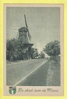 * Rotterdam (Zuid Holland - Nederland) * (Jos M.H. Nuss Eemnes) Kaneel Molen Aan Krallingerweg, Moulin, Mill - Rotterdam