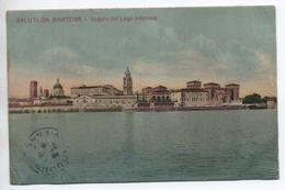 SALUTI DA MANTOVA - VEDUTA DEL LAGO INFERIORE - Mantova