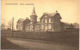 SOMBREFFE  Château Février. - Sombreffe